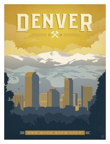 Denver colorado poster