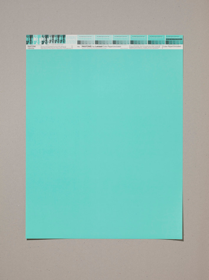 pantone poster, print, graphic design