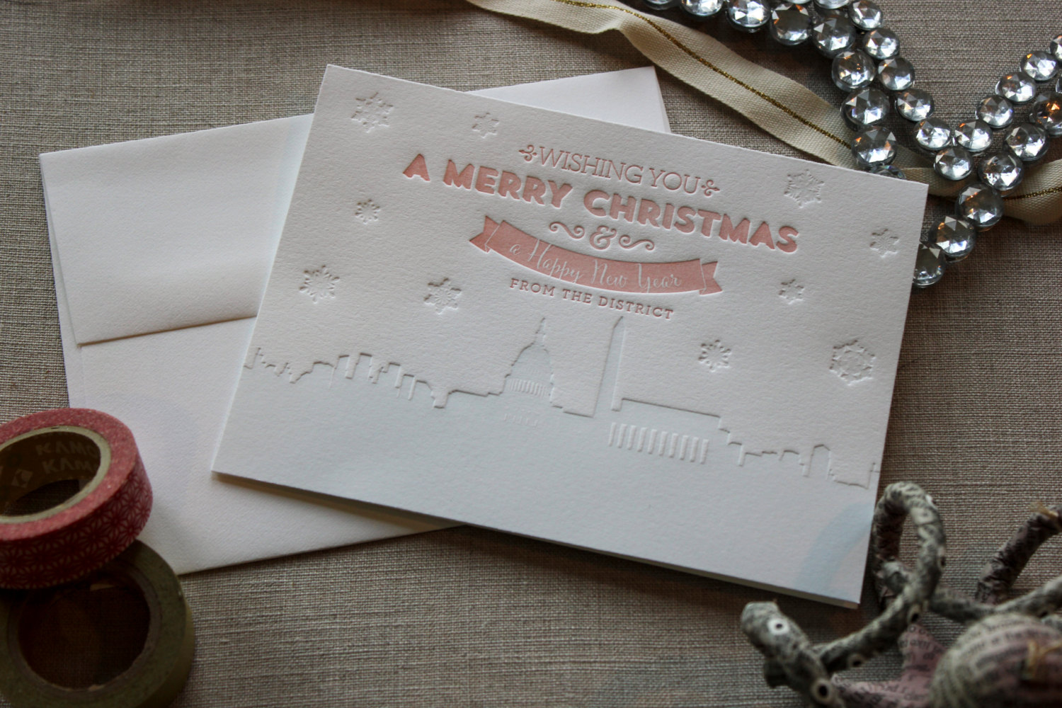district of columbia christmas card