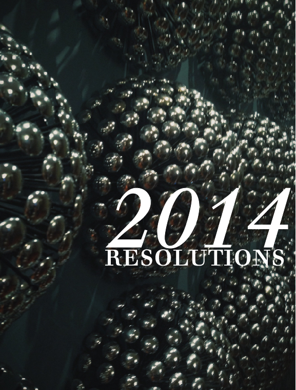 2014 goals and resolutions