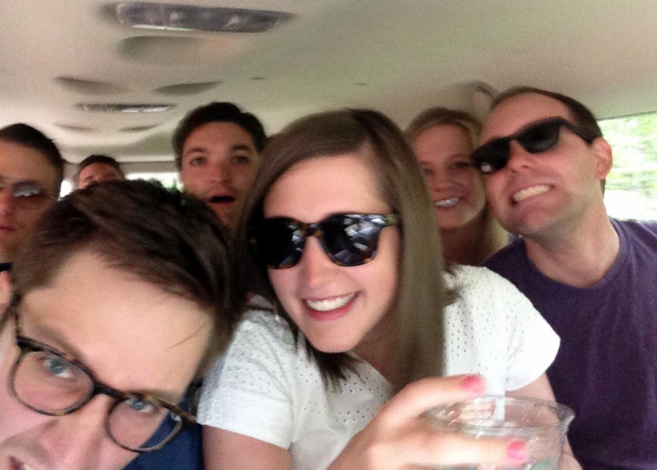 bumpy van selfie
