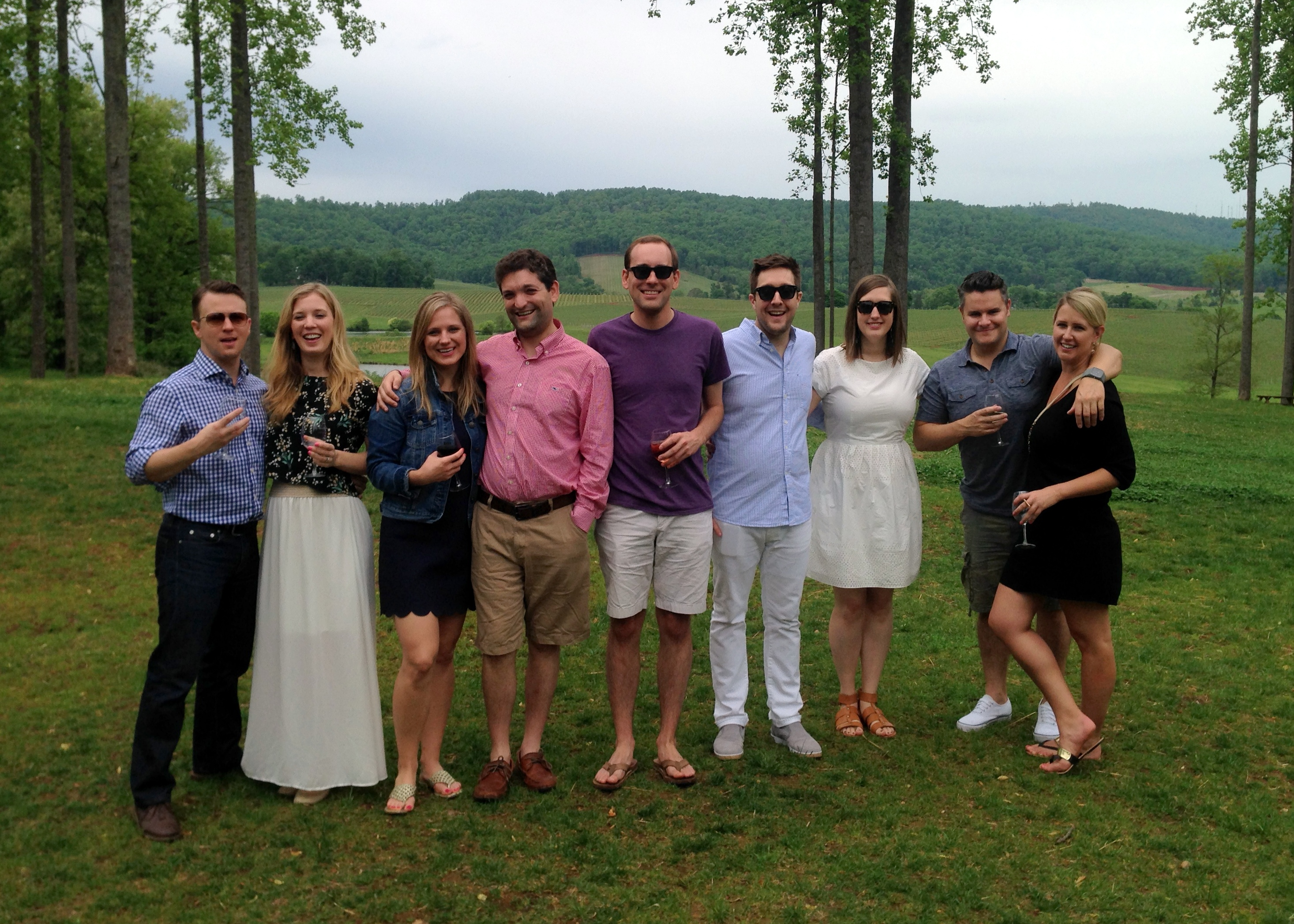group getaway trip to trump vineyards
