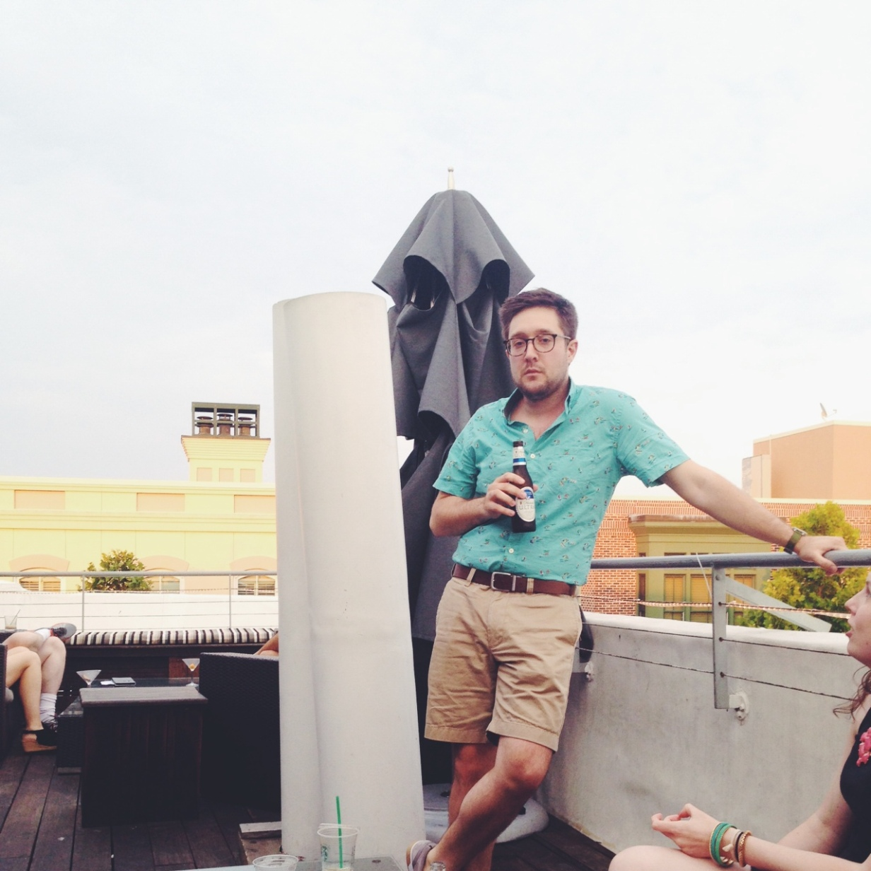 rooftop happy hours charleston