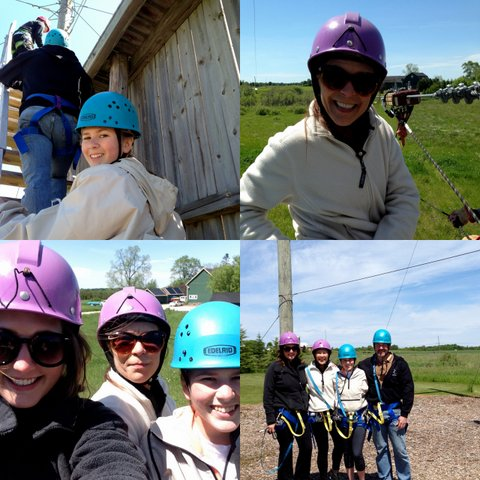 sturgeon bay wi ziplining