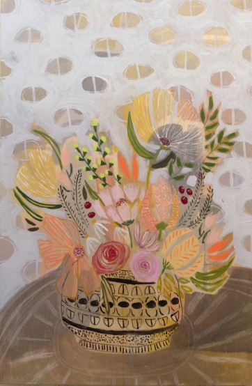 lulie wallace flower painting