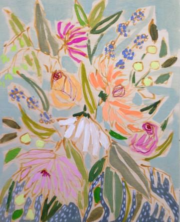 lulie wallace floral print