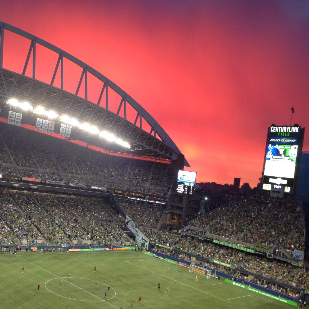 seattle sounders soccer stadium view