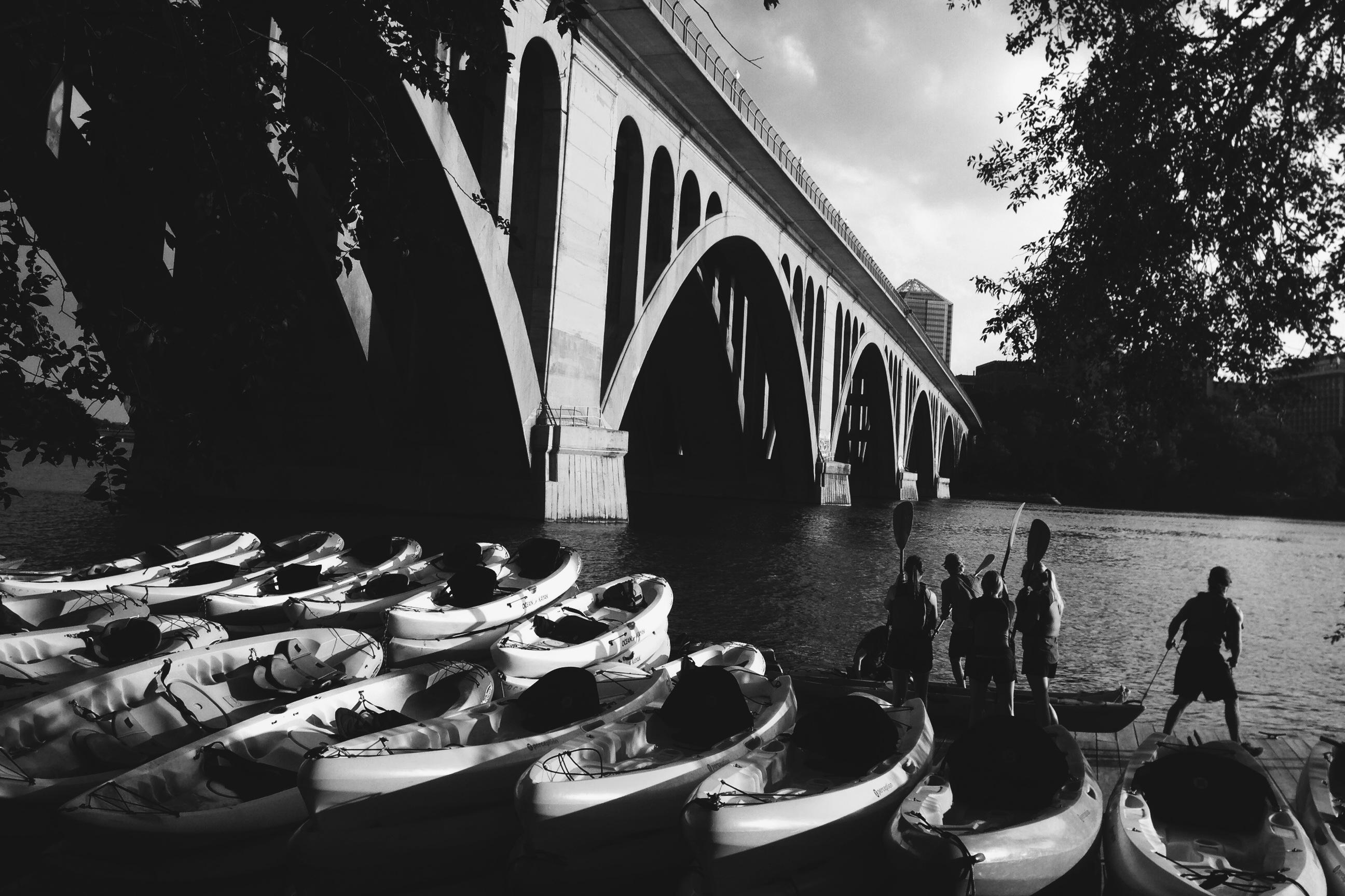 key bridge dc kayaking