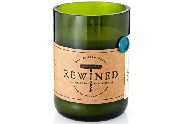 rewined riesling wine candle