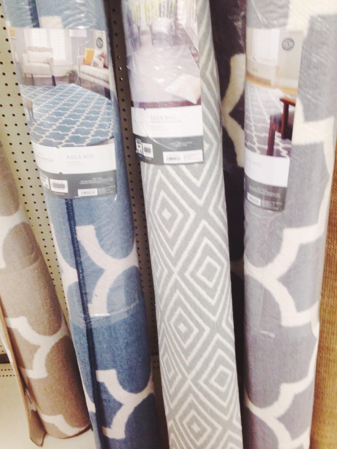 rug shopping target