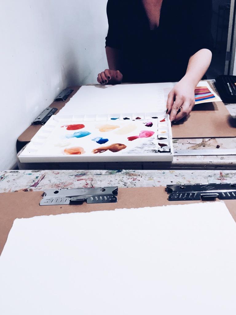 beginner watercolor lessons | reidmore blog